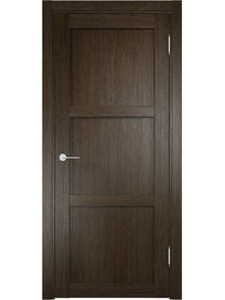 Дверное полотно Verda Баден 01, Дуб Табачный, 700 х 2000 мм