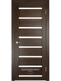 Дверное полотно Verda Мюнхен 05 600, дуб табак, 600 х 35 х 2000 мм