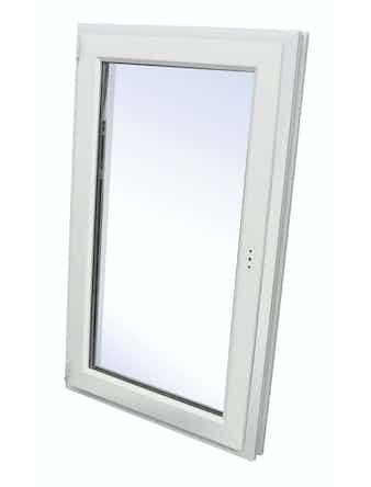 Окно одностворчатое ПВХ WHS, левое, поворотное, 900 х 600 мм