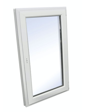 Окно одностворчатое ПВХ WHS, правое, поворотное, 900 х 600 мм