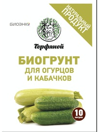 Биогрунт для огурцов и кабачков, 10 л