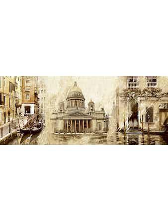 Декор настенный Sfumato Beige Vistas1, 20,1 х 50,5 см
