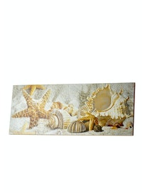 Декор Caliza Beige Mare 3, 20,1 х 50,5 см