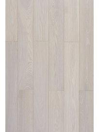 Доска паркетная Amber Wood Дуб Белая ночь, 1-полосная, 14 мм
