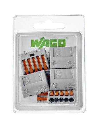 Клемма Wago (222-415) Cu-Al 5 проводов