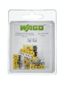Клемма Wago (2273-245) Cu-Al (с пастой)