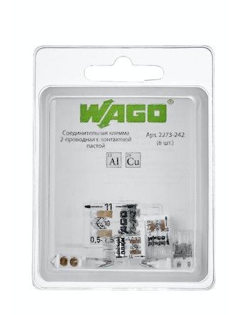 Клемма Wago(2273-242)Cu-Al (с пастой)