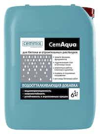 Водоотталкивающая добавка Cemmix CemAqua, 5 л