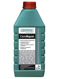 Водоотталкивающая добавка Cemmix CemAqua, 1 л