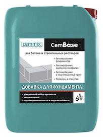 Добавка для фундамента Cemmix CemBase, 5 л