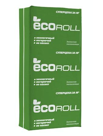 Теплоизоляция EcoRoll плита TS040, 100 мм