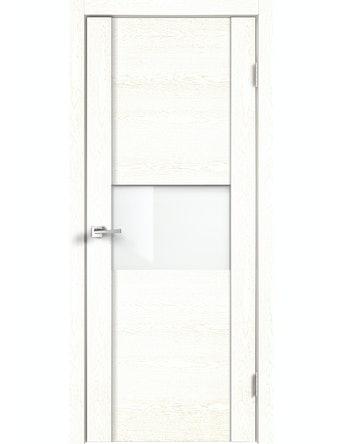Дверное полотно ДО Modern 1 беленый ясень, 700 х 2000 мм
