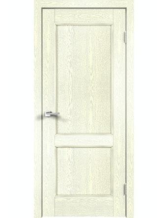 Дверное полотно ДГ Classico 2P Слоновая Кость, 600 х 2000