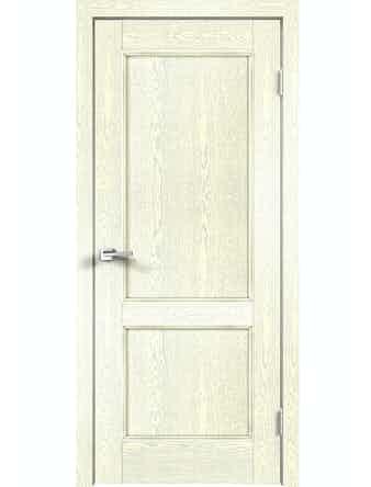 Дверное полотно ДГ Classico 2P Слоновая Кость, 800 х 2000