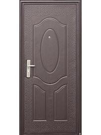 Дверь металлическая Эконом Е40М 960R, 960 х 2050 мм