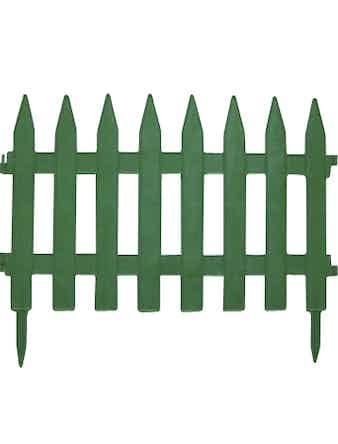 Забор декоративный №1 зеленый