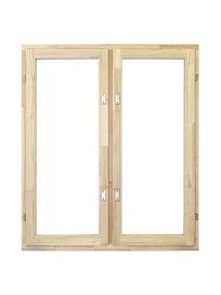 Окно деревянное с однокамерным стеклопакетом ОД ОСП45 12-10, 1160 х 1000 мм