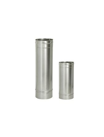 Труба без/изоляции, длина 1000 мм, диаметр 120 мм