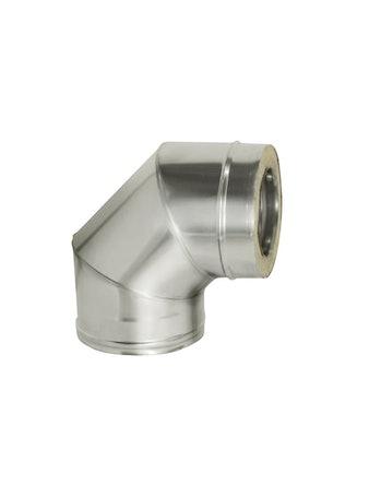 Отвод угол 90 гр с изол., на трубу, диаметр 115/200 мм