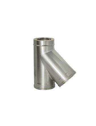 Тройник угол 45 гр с изол., на трубу ,диаметр 115/200 мм