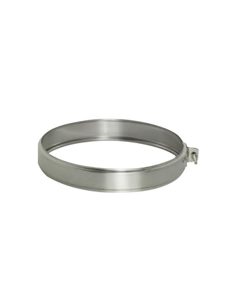 Хомут соединительный на трубу, диаметр 120мм