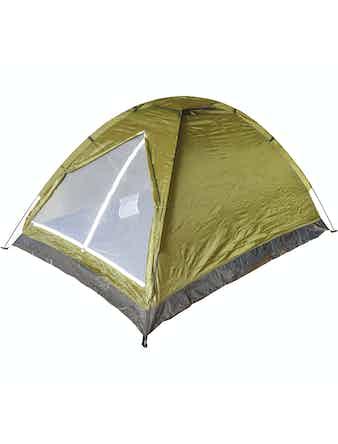 Палатка двухместная, однослойная