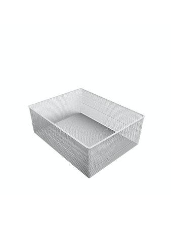 Корзина сетчатая, 535 x 410 x 185 мм, белая