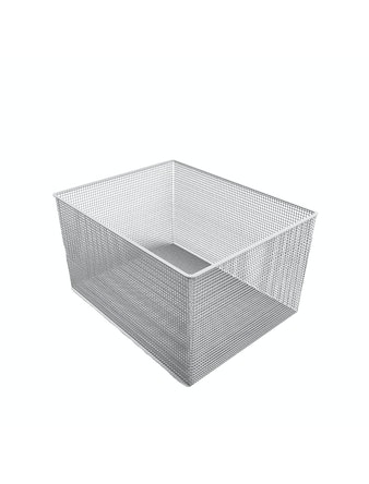 Корзина сетчатая, 535 x 410 x 285 мм, белая