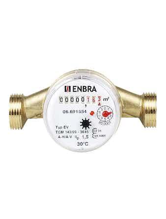 Счетчик горячей воды ENBRA
