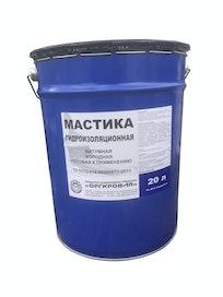 Мастика холодная битумная гидроизоляционная, 16 кг