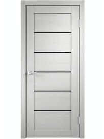 Дверное полотно ДО Linea 1 Дуб беленый, 800 х 2000 мм