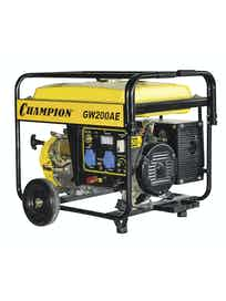 Генератор CHAMPION бензиновый сварочный GW200AE