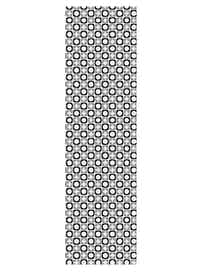 Дорожка Звездочки, серая, 45 х 145 см