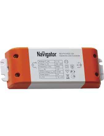Драйвер Navigator 71460-15Вт-IP20-12V