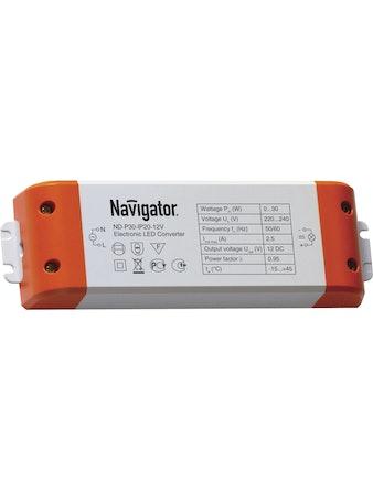 Драйвер Navigator 71461-30Вт-IP20-12V