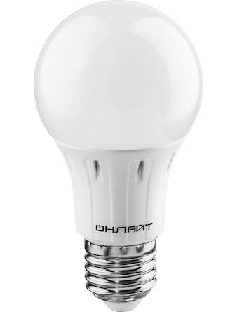Лампа LED ОНЛАЙТ груша 7w,230,E27,х/с