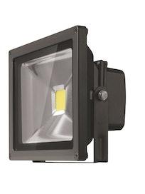 Прожектор LED Онлайт, 10 Вт, IP65, черный