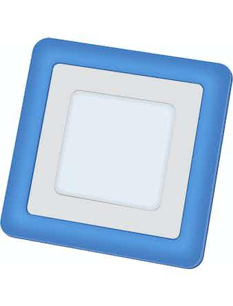 Панель Navigator встр.LED 71 823,6+2Вт/квадрат/синий