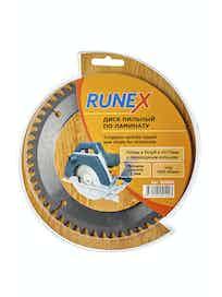 Диск пильный по ламинату Runex, 160 мм х 54 зуб. х 20/16 мм, отрицательный угол