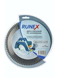 Диск пильный по алюминию Runex, 200 мм х 80 зуб. х 32/30 мм, отрицательный угол