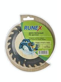 Диск пильный по дереву Runex, 130 мм х 24 зуб. х 16 мм