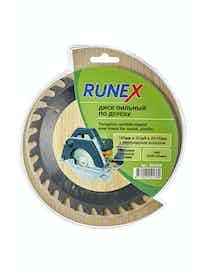 Диск пильный по дереву Runex, 160 мм х 32 зуб. х 20/16 мм