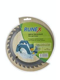 Диск пильный по дереву Runex, 190 мм х 32 зуб. х 30/20 мм