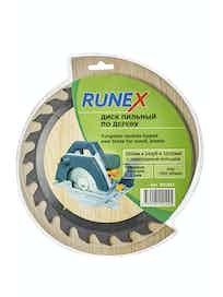 Диск пильный по дереву Runex, 200 мм х 24 зуб. х 32/30 мм