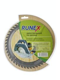 Диск пильный по дереву Runex, 200 мм х 48 зуб. х 32/30 мм