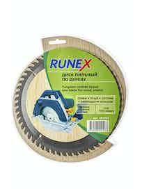Диск пильный по дереву Runex, 200 мм х 56 зуб. х 32/30 мм