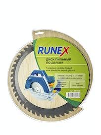 Диск пильный по дереву Runex, 300 мм х 48 зуб. х 32/30 мм
