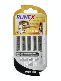 Пилки для чистого распила Runex Т101В, 100 x 75 мм, 5 шт.