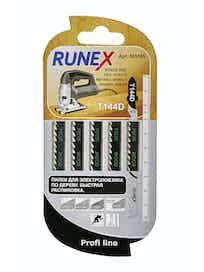 Пилки для быстрого распила Runex T144D, 100 x 75 мм, 5 шт.