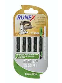 Пилки для прямого распила Runex T119B, 75 x 50 мм, 5 шт.